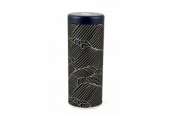 Washi box - wawe black and...