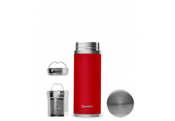Red inox isotherm travel mug