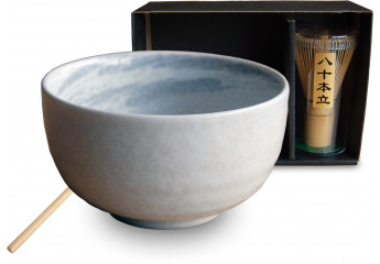 Matcha set 3 pieces White Bowl