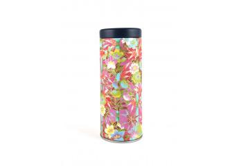 Washi paper tin - Tropical...