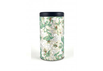 Washi paper tin - green...