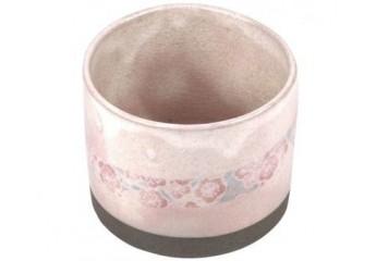 Pink mug - Flowers