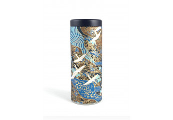 Washi box - White, blue and...