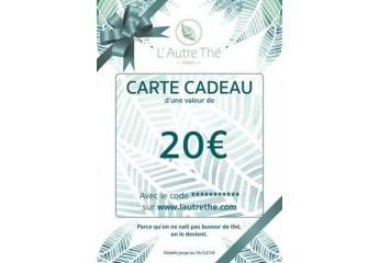 Gift coupon 20€