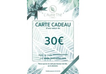Gift coupon 30€