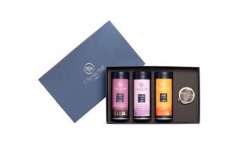 "Gift box ""2 organic teas, 1..."