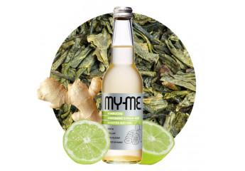 Organic Ginger-Lime Kombucha