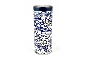 Washi box - Blue flowers on...