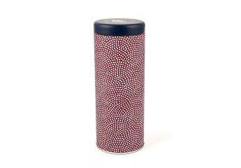 Boîte washi - rouge motif...