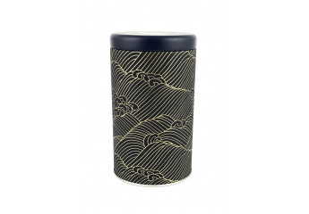 Washi box - Waves gold
