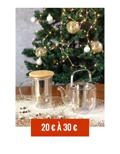 Gift ideas around tea between 20 € and 30 €