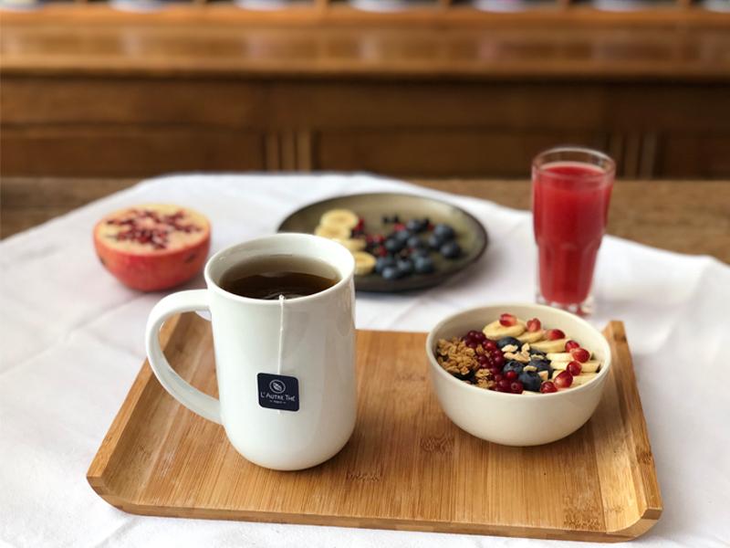 Thé du petit déjeuner : temps d'infusion