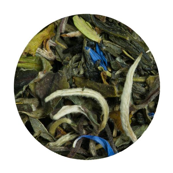 Thé blanc bergamote bleuet