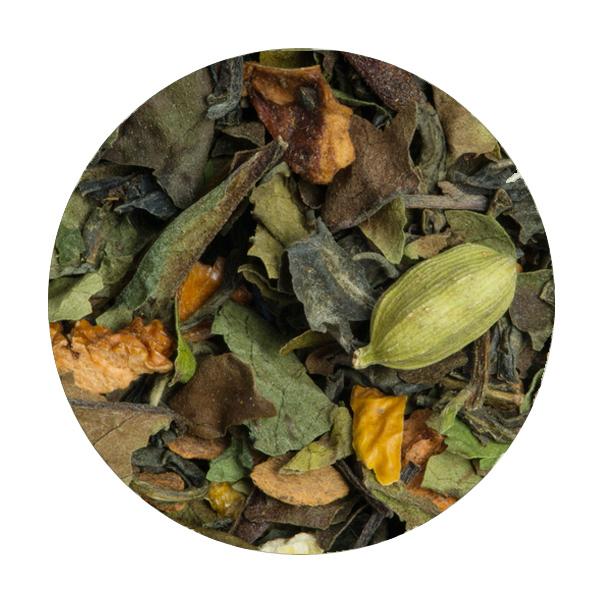 Thé blanc orange cannelle