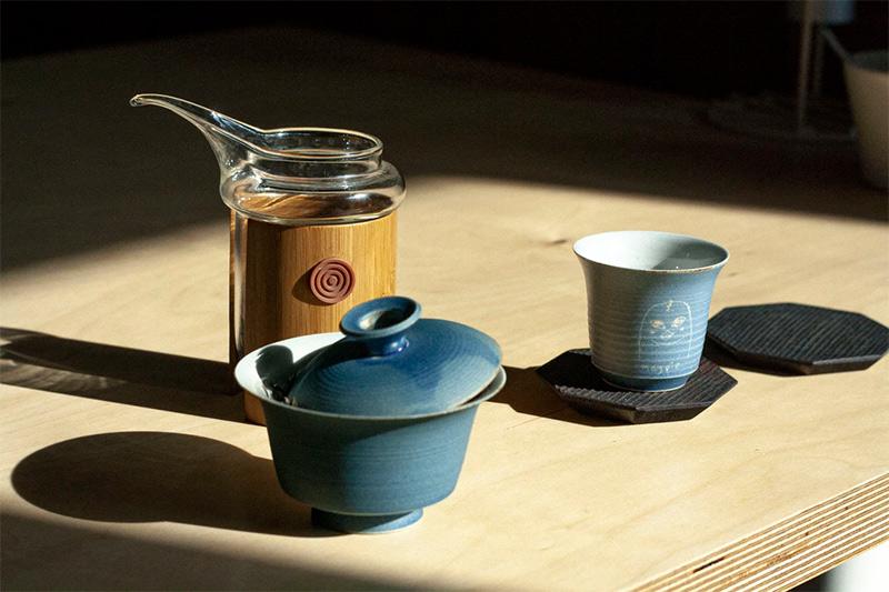 Infusion de thé en gaïwan/zhong