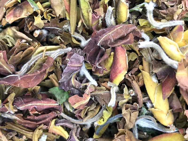 """Feuilles de thé vert nature du Vietnam """"Ailes du dragon"""""""