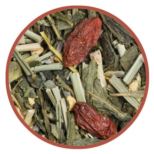 Thé vert Noël des Cigales