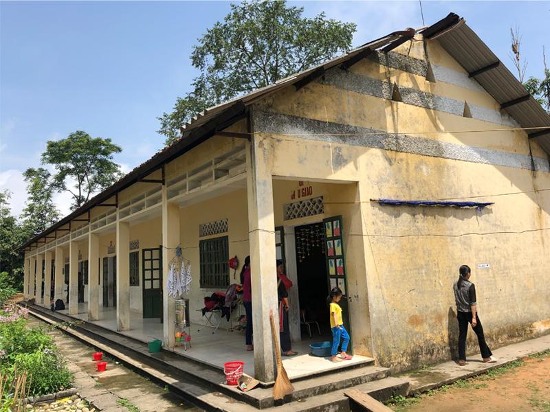 L'école primaire de Nam Hong