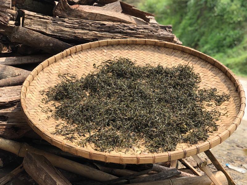 Séchage du thé - les paniers