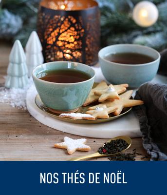 Nos thés et infusions de Noël
