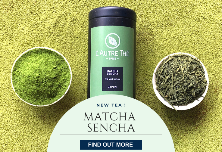 New tea to enjoy : Matcha Sencha