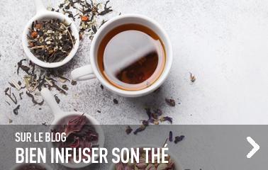 Sur le blog : réussir toutes vos infusions
