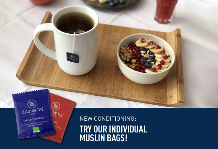 New conditioning: individual muslin bags