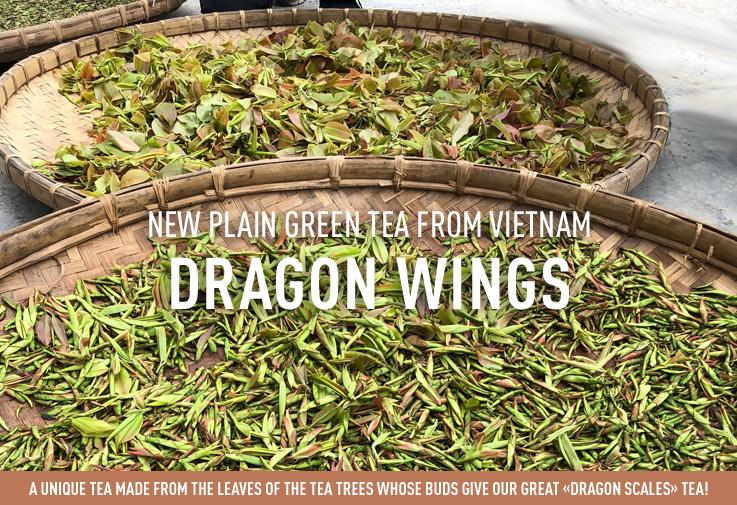 New green tea Dragon wings