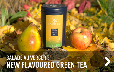 New organic flavoured green tea