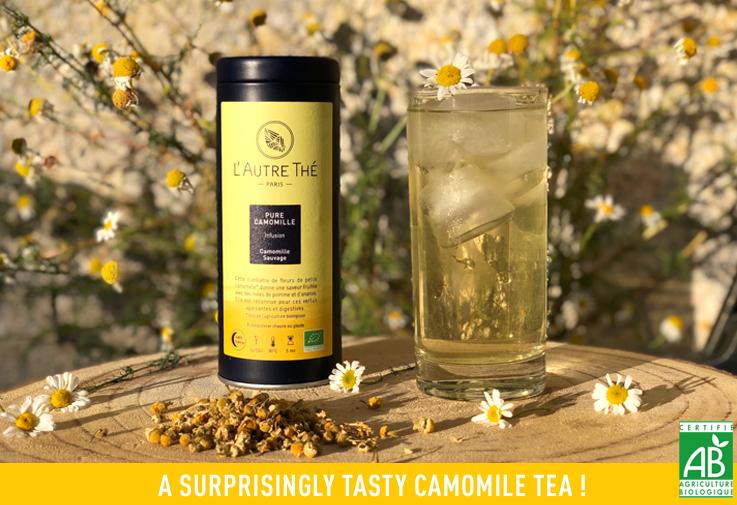 New camomile tea