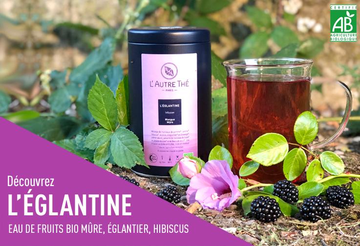 Nouvelle eau de fruit : L'Eglantine