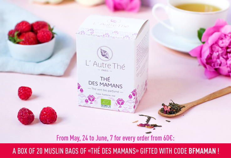 "A box of ""Thé des Mamans"" gifted!"