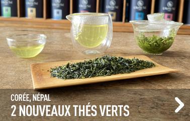 2 nouveaux thés verts
