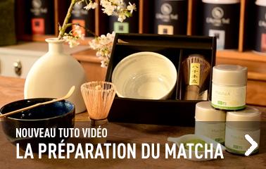 Tuto vidéo : préparer un matcha