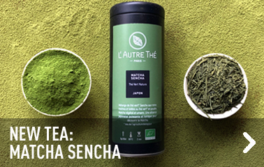 New tea: matcha sencha
