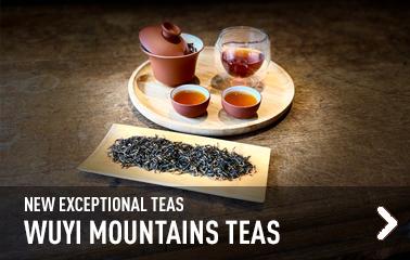 Wuyi Mountains teas
