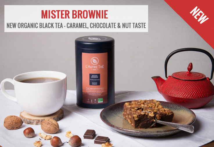 New organic black tea Mister Brownie