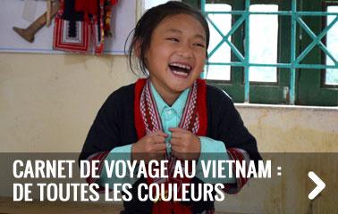 Carnet de voyage au Vietnam : de toutes les couleurs