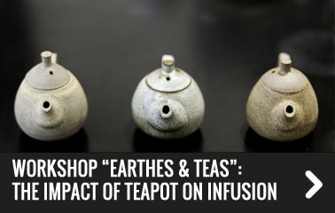 Workshop Earthes and teas: the impact of teapot on infusion