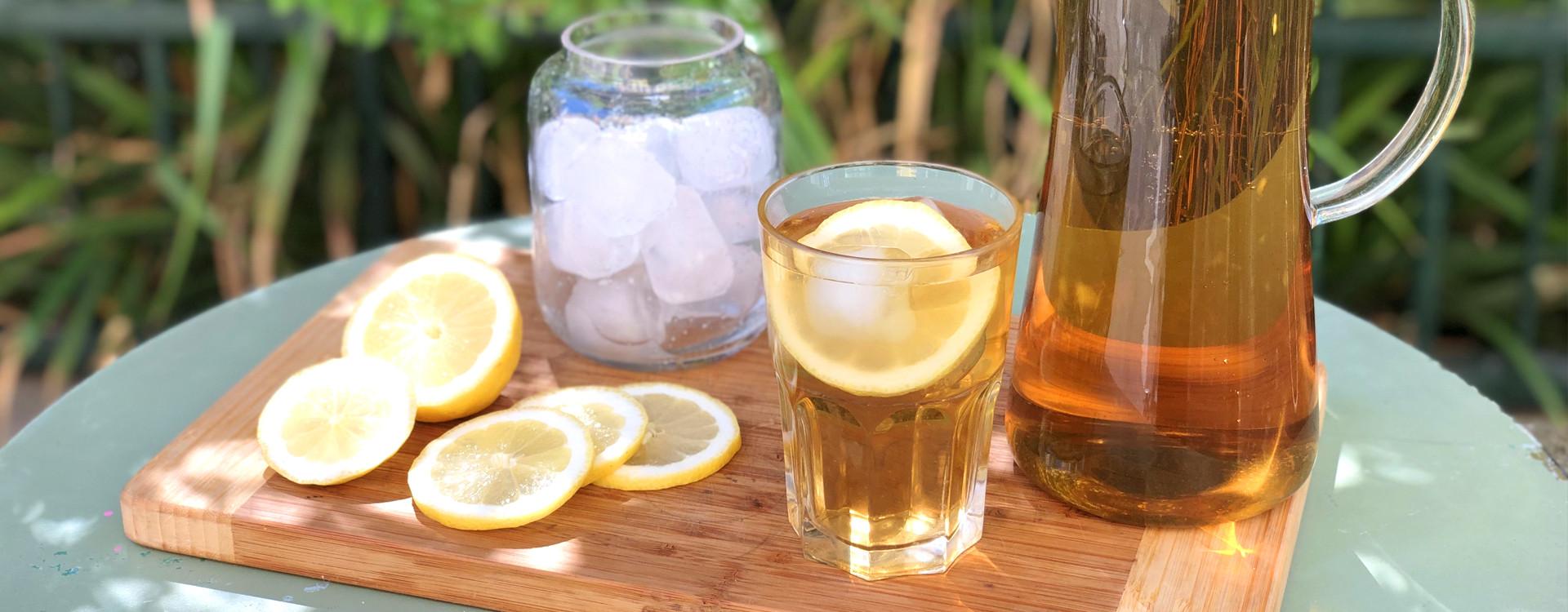 4 recettes de thé glacé
